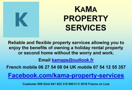 Kama Property Services,property services English,holiday rental property,second home owners,gite changeovers,property cleaning,meet and greet,gardening,pool maintenance,property maintenance,key holding,Dordogne,Lot et Garonne,Gironde